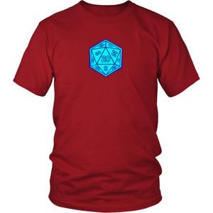 Ironman DND Dice D&D Dungeons And Dragons  T-Shirt