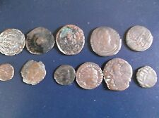 11 Ancient Old Antique  Rare Coins.Romans-Armenians  1000 + Years Old