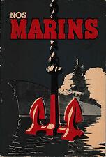 livre nos marins les spécialités de la Flotte illustré par Luc Bayle 1943