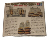 Vintage Tamiya Military Miniatures Sand Bags Set 1/35 Scale NEW Made In Japan