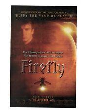 Firefly - Joss Whedon Nathan Fillion - Fox Series Premier Vintage Print Ad 2002