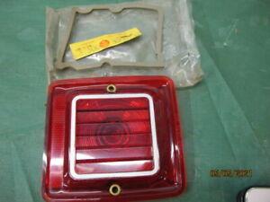 1966 RAMBLER WAGON NOS TAIL LIGHT LENS RIGHT HAND P/N 3206732 BRAND NEW