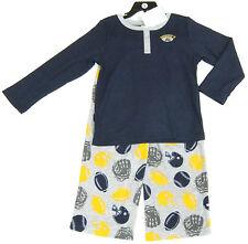 Carter's boys' 2 pce USA FOOTBALL pyjamas set, gris & bleu top & pantalon 7 ans