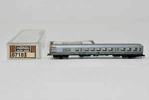 Z Scale Marklin 8718 DB Orange Version Intercity Passenger Car w/ Light, Box