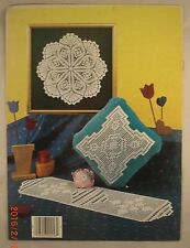 Decorating with Crocheted Doilies -Leaflet 238 - Leisure Arts - 9 Patterns