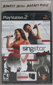 Singstar Rocks! Playstation 2 PS2 Video Game - New  MINT  Sealed  Rolling Stones