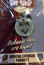 NRL NSW STATE OF ORIGIN BLUE DOG PUPPY CAT KITTEN PET ID TAG OR KEY RING BNIP
