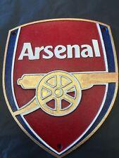 Arsenal cast iron Sign  Arsenal Fan
