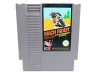 NINTENDO NES Mach Rider Game PAL