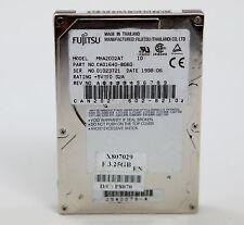 """1998 FUJITSU MHA2032AT CA01640-B060 Hard Disk Drive HDD IDE 3.25 GB 2.5"""" AT"""
