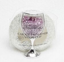 1 Bath Body Works Scentportable Holder CHAMPAGNE GLASS Wine Car Visor Clip Unit