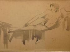MARCEL-LENOIR (1872-1931) Femme nue nude érotisme symbolisme fauve Montauban