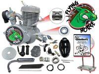 80cc Flying Horse Bicycle Engine Kit Motorized Bike Gas Powered 2 Stroke 66cc NE