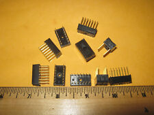 10x DIP 14-pin wire wrap IC socket gold plated leads new DIY Arduino prototyping