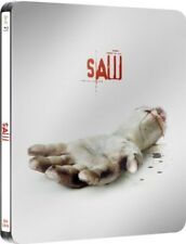 SAW (Cary Elwes, Danny Glover) Blu-ray Disc, Steelbook U.K. NEU+OVP