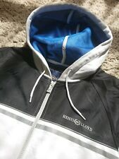 AWESOME HENRI LLOYD TRACKY TRACKSUIT JACKET ZIP UP REFLECTIVE HOODIE MEDIUM MENS