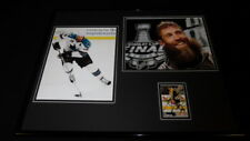 Joe Thornton Signed Framed 16x20 Photo Set Sharks