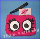 Luv Betsey by Betsey Johnson ZIP COIN Wristlet LBEYEZ Pink, Black, & White NWT