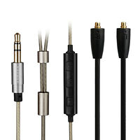 Silver Plated Audio Cable With remote mic For Onkyo IE-C1/C2/C3 IN-EAR MONITOR