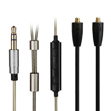 Upgrade Silver Audio Cable For SONY XBA-Z5 XBA-H3 H2 XBA-A3 A2 With remote mic