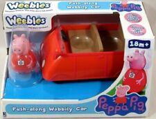 Peppa Pig Weebles Push-Along Wobbily Car