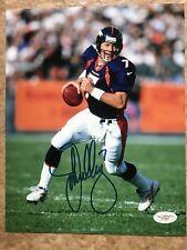 John Elway Denver Broncos Autographed Signed 8x10 Photo JSA Cert