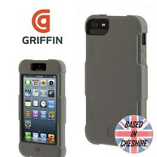 Griffin Survivor Protector Cover for Apple iPhone 5 5S SE Heavy Duty Case Grey