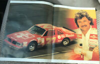 Tim Richmond Poster From Magazine 1991 NASCAR Beautiful!