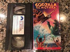 Godzilla Versus Mothra Vhs! 1992 Fantasy! King Kong Escapes Dogora Rodan