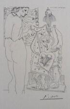 PICASSO (d'après) : Le trône - LITHOGRAPHIE signée/numérotée 1200ex