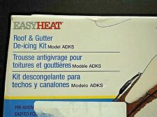 Easy Heat ADKS600 Roof and Gutter De-Icing Kit 120ft  NEW IN BOX