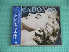 MADONNA CD True Blue Sticker Obi 1986 OOP Japan 32XD-449