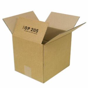 100 x Faltkarton 240x200x200 mm OP 205 Karton Verpackung Versand Paket Sendung