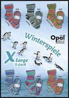 """Opal """"Winterspiele / Winter Games"""" 8ply Sock Yarn - Full Range"""