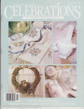 CELEBRATIONS Leisure Arts Magazine Winter/Spring 1990 - Lots of Easters Ideas