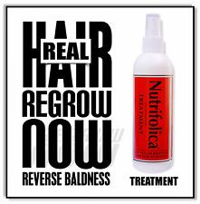 *NEW* Best growth treatment: NUTRIFOLICA ® HAIR REGROWTH grow receding / crown