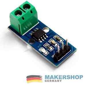 ACS712 5A Stromsensor Analog Current Hall Sensor Arduino Raspberry Pi