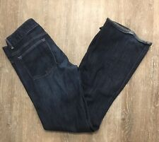 SEXY WOMEN GAP 1969 PERFECT BOOT CUT DOUBLE BUTTON BLUE JEANS PANTS 28/6R