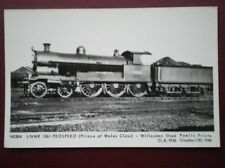 POSTCARD LNWR LOCO NO 1361 PROSPERO - PRINCE OF WALES CLASS AT WILLSDEN SHEDS
