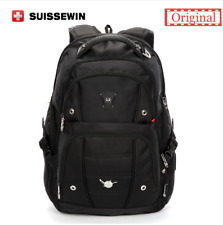 "SUISSEWIN Swiss Backpack/Travel Backpack/School Backpack sn9808 17"" Laptop"