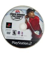 Tiger Woods PGA Tour 2003 PS2 PlayStation 2 Video Game Disc Only Rate E