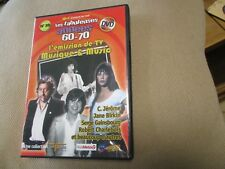 "DVD ""MUSIQUE & MUSIC"" Robert CHARLEBOIS, C. JEROME, France GALL, Renaud"