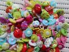 300pcs Mix Lot plastic Resin Button Sewing /Cardmaker / Scrapbooking Baby DIY