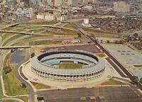 CE-153 GA, Atlanta Stadium and New Skyline Chrome Postcard Georgia