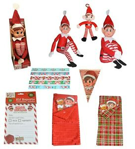 Naughty Elves Behavin' Badly Boy Girl Naughty Elf & accessories Props Xmas Gift