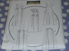 BUTTERICK 5509 MAKING HISTORY MISSES VICTORIAN APRONS PATTERN-NEW-UNCUT--8-18