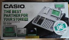 Caisse Casio SE-S400M - avec imprimante thermique Tiroir et ecran LCD - NEUVE