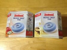 NEW 4 x 450g UniBond Aero 360 2 FRUIT + 2 VANILLA Humidity Absorber refills