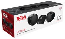 Boss MCBK400 600W Motorcycle/UTV Speaker and Amplifier System Low $$