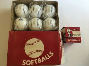 13 Brand New Softballs Mixed Brand Trump Stote Official
